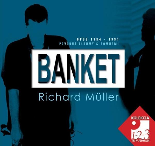 CD Banket & Richard Müller - 13x14 cm