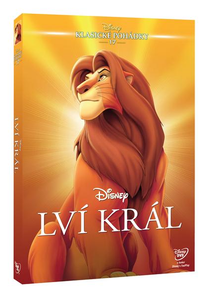 DVD Lví král - Roger Allers, Rob Minkoff - 13x19 cm