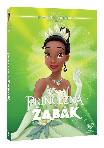 DVD Princezna a žabák - 13x19 cm