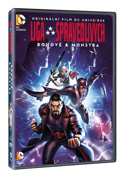 DVD Liga spravedlivých: Bohové & monstra - Sam Liu - 13x19 cm