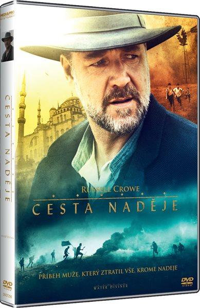 DVD Cesta naděje - Russell Crowe - 13x19 cm