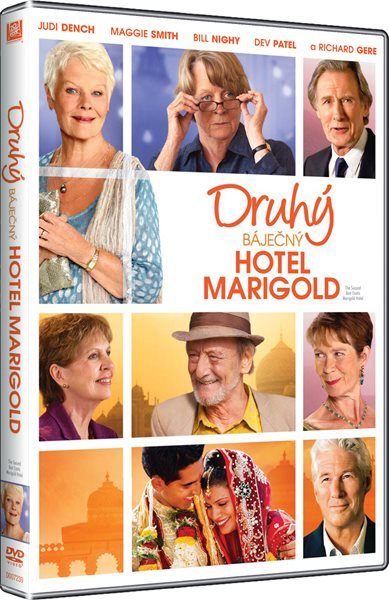 DVD Druhý báječný hotel Marigold - John Madden - 13x19 cm