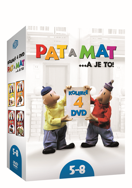 DVD Pat a Mat 5-8 - 13x19 cm