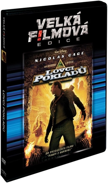 DVD Lovci pokladů - Jon Turteltaub - 13x19 cm