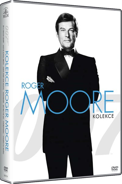 DVD James Bond - kolekce Roger Moore - John Glen - 13x19 cm