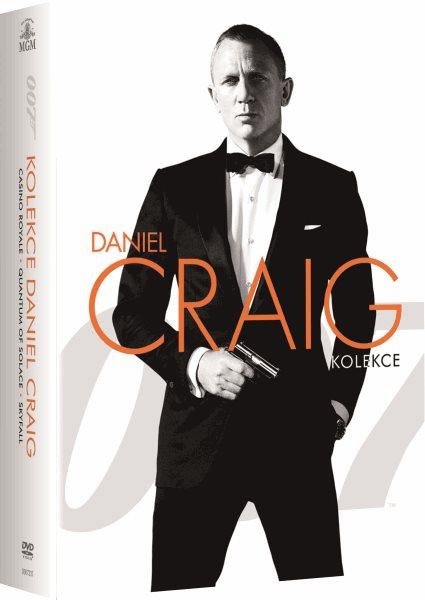 DVD James Bond - kolekce Daniel Craig - Martin Campbell, Marc Forster - 13x19 cm