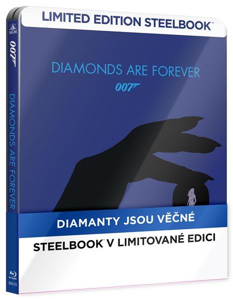 Diamanty jsou věčné Blu-ray - Guy Hamilton - 14x17 cm