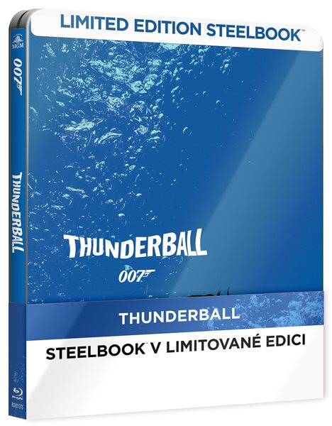 Thunderball Blu-ray - Terence Young - 14x17 cm