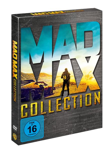 DVD Šílený Max Antologie +bonus disk - 13x19 cm