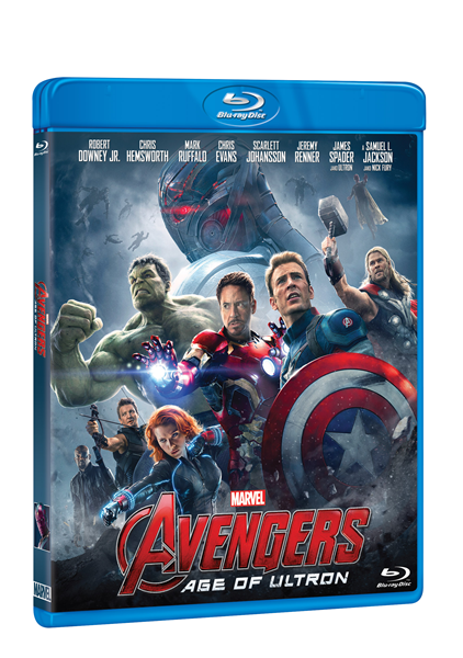 Avengers: Age of Ultron Blu-ray - Joss Whedon - 13x17 cm