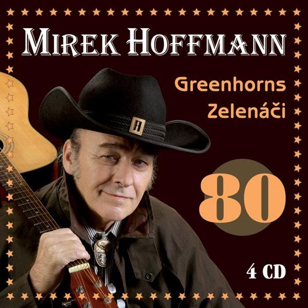 Mirek Hoffmann : Mirek Hoffmann 80 4 CD - Hoffmann Mirek - 13x14 cm