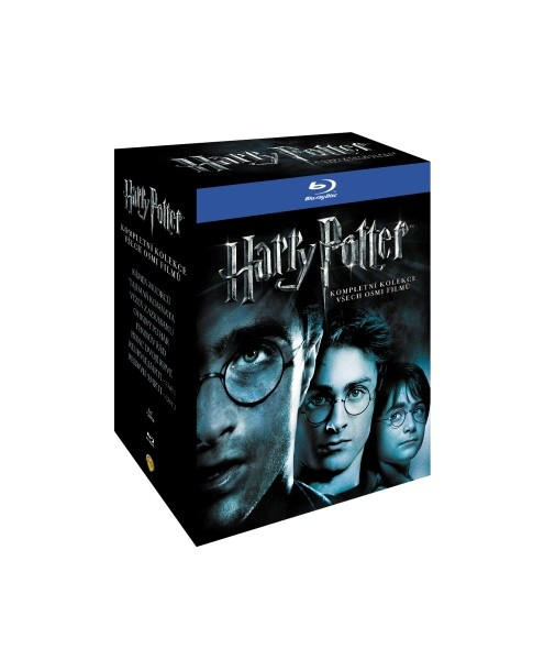 Harry Potter 1 - 7 Box Blu-ray - Chris Columbus, Alfonso Cuarón, Mike Newell, David Yates - 13x17 cm, Doprava zdarma