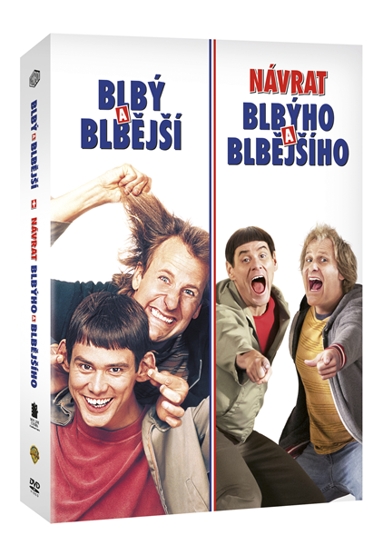 DVD Blbý a blbější kolekce