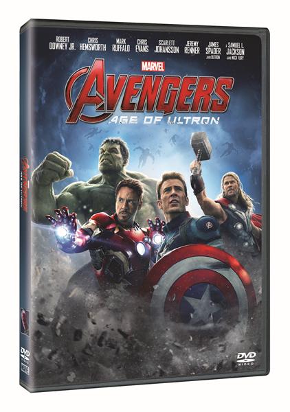 DVD Avengers: Age of Ultron - Joss Whedon - 13x19 cm