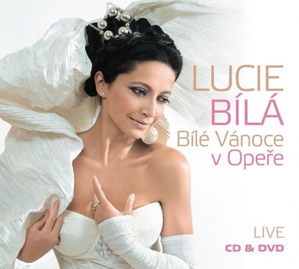CD Lucie Bílá: Bílé Vánoce v Opeře LIVE - Bílá Lucie - 13x14 cm