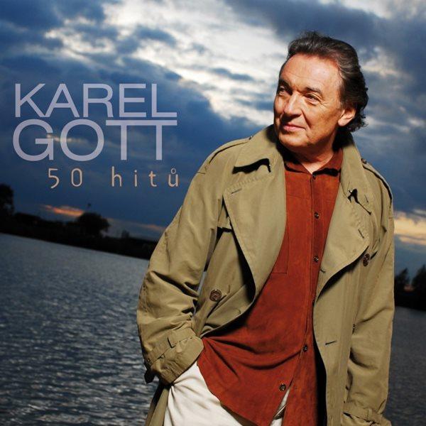 CD Karel Gott: 50 hitů - Gott Karel - 13x14 cm