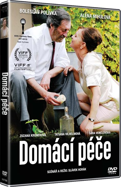 DVD Domácí péče - Slávek Horák - 13x19 cm