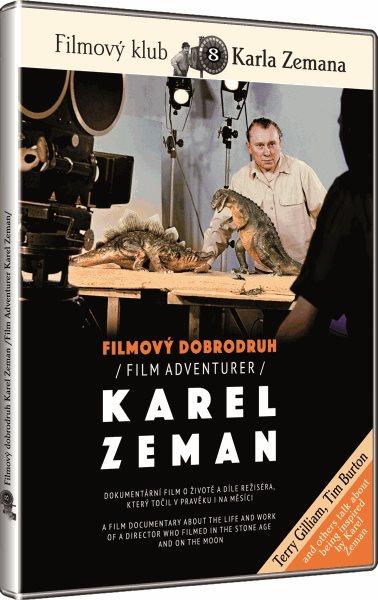 DVD Filmový dobrodruh Karel Zeman - Tomáš Hodan - 13x19 cm
