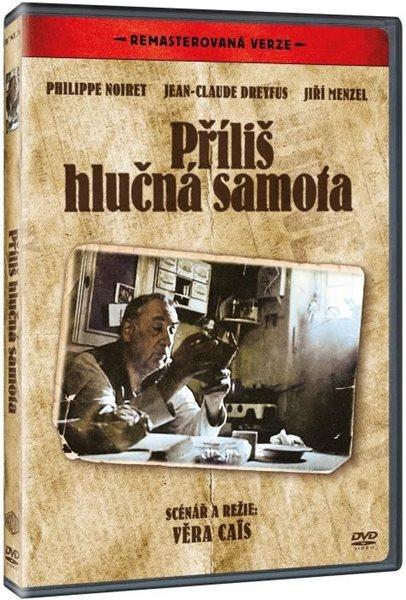 DVD Příliš hlučná samota - Věra Caïs - 13x19 cm