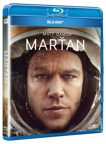 Marťan Blu-ray - Ridley Scott - 13x17 cm