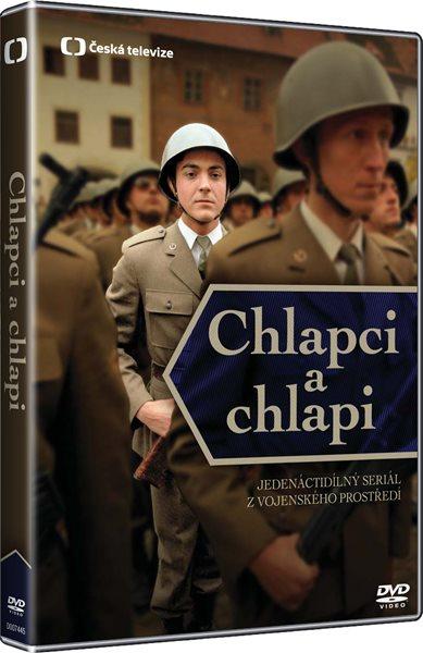 Chlapci a chlapi kolekce 4 DVD - Evžen Sokolovský - 13x19 cm