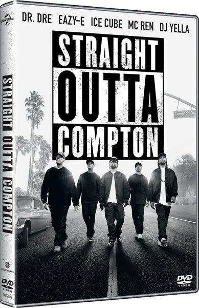 DVD Straight Outta Compton - F. Gary Gray - 13x19 cm