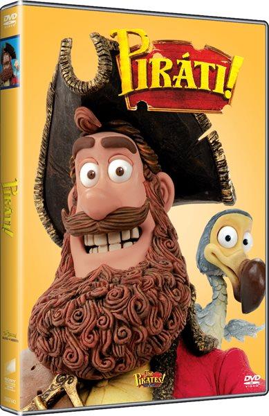 DVD Piráti - Peter Lord, Jeff Newitt - 13x19 cm