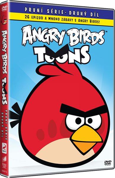 DVD Angry Birds Toons 2 - Eric Guaglione, Kim Helminen, Thomas Lepeska - 13x19 cm