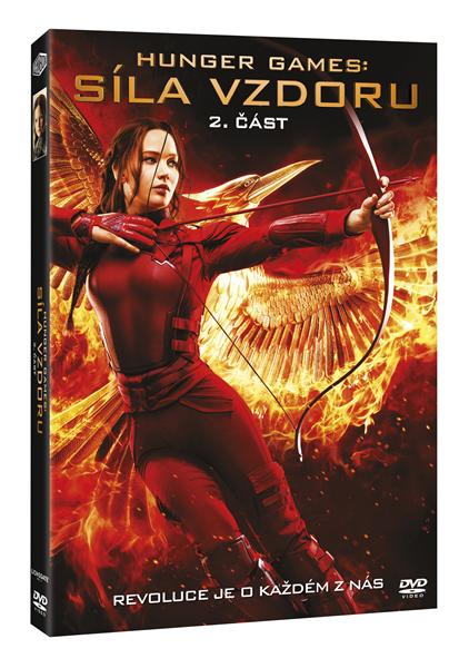 DVD Hunger Games: Síla vzdoru 2. část - Francis Lawrence - 13x19 cm