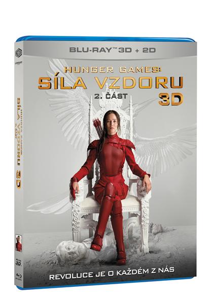 Hunger Games: Síla vzdoru 2. část 2Blu-ray 3D+2D - Francis Lawrence - 13x17 cm