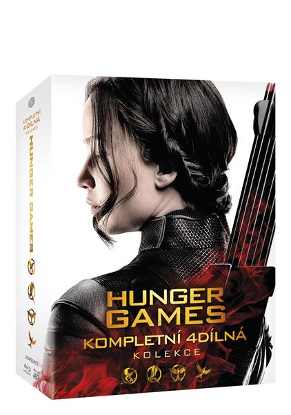 Hunger Games kolekce Blu-ray - 13x17 cm