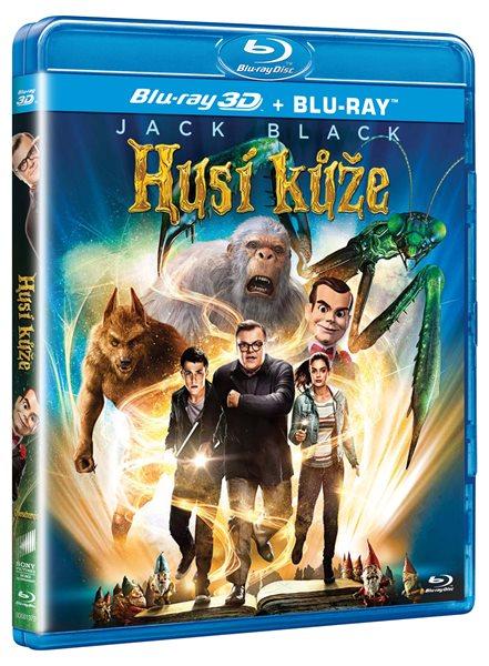 Husí kůže Blu-ray 3D+2D - Rob Letterman - 13x17 cm