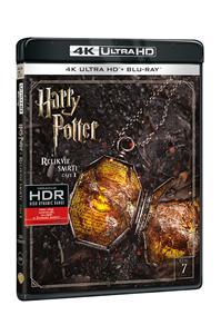 Harry Potter a Relikvie smrti - část 1. 2Blu-ray UHD+BD