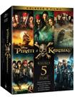 Piráti z Karibiku kolekce 1.-5. Blu-ray