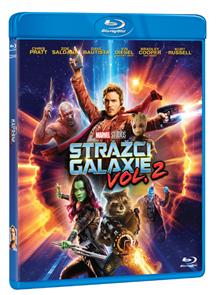 Strážci Galaxie Vol. 2 Blu-ray