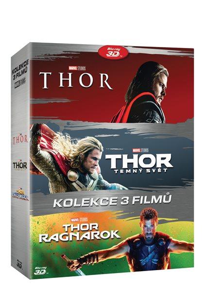 Thor kolekce 1-3 (6 Blu-ray 3D+2D)