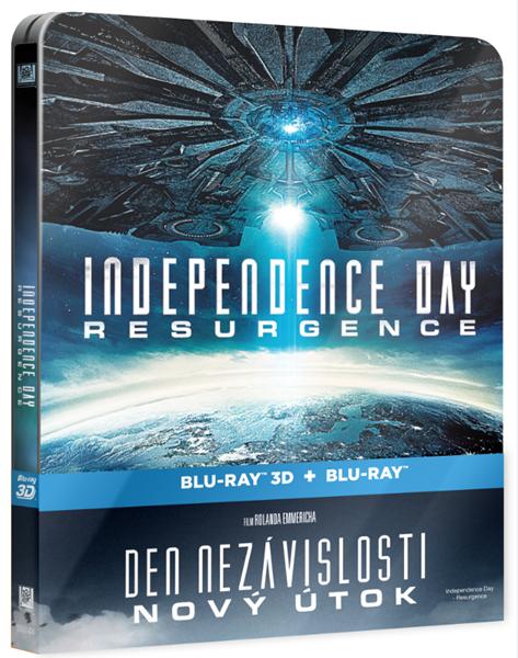 Den nezávislosti: Nový útok Blu-ray 2D+3D BD Steelbook