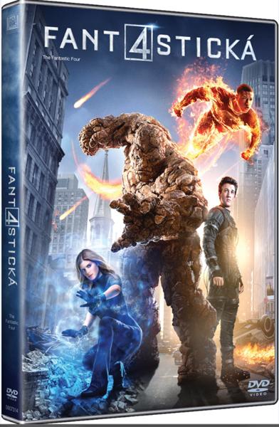 DVD Fantastická čtyřka