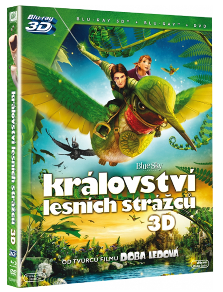 Království lesních strážců 2D+3D Blu-ray