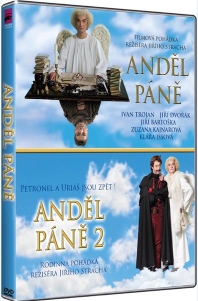 Anděl páně 1+2 Kolekce DVD - Jiří Strach