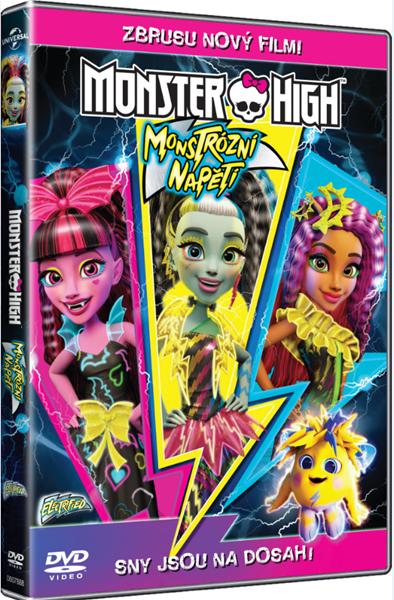 DVD Monster High: Monstrózní napětí