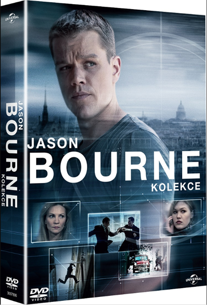 Kolekce Jason Bourne 5DVD + bonus disk
