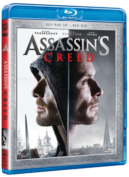 Assassin's Creed Blu-ray 3D + 2D