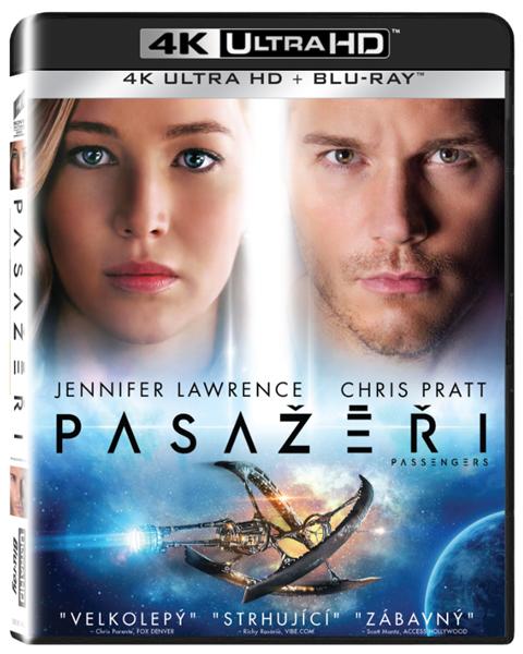 Pasažéři UHD + Blu-ray