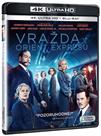 Vražda v Orient expresu (2017) UHD + Blu-ray