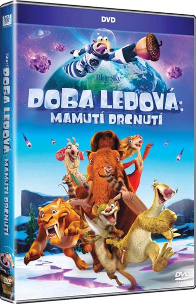 DVD Doba ledová: Mamutí drcnutí - Ice Age: Collision Course, Sleva 17%