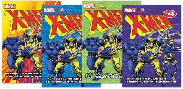 DVD X-Men 1. - 13x19 cm
