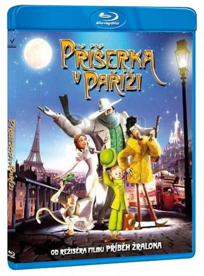 Příšerka v Paříži Blu-ray 3D - neuveden - 13x17 cm