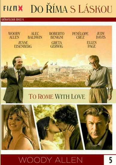 DVD Do Říma s láskou - neuveden - 13x19 cm