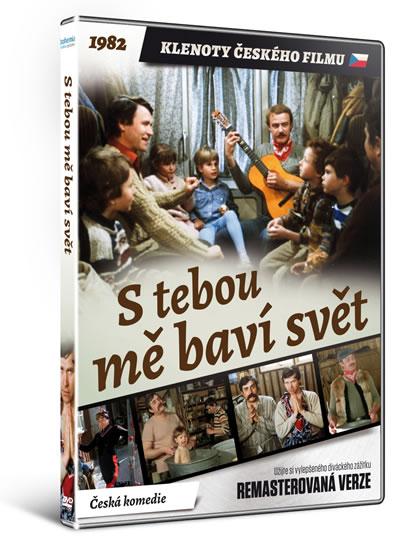 DVD S tebou mě baví svět - remasterovaná verze Klenoty českého filmu - neuveden